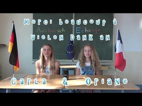 Interner deutsch-französischer Austausch der Klassen 6a und 6e1
