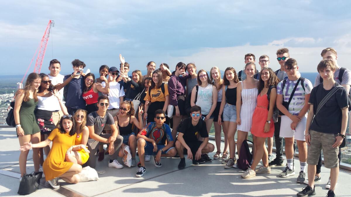 Tageslehrfahrt nach Frankfurt der Klassen Seconde ES und Seconde L2