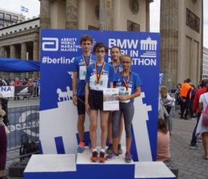 Teilnehmer-DFG beim Schüler-Mini-Marathon in Berlin