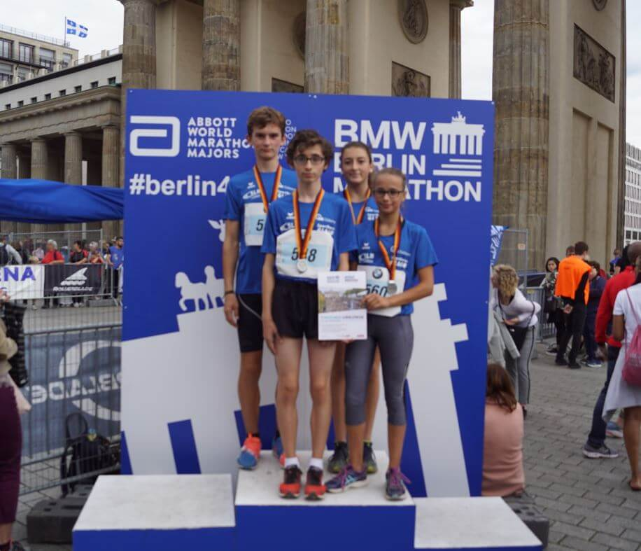 DFG-Schüler mit tollen Erfolgen für das Team Saarland beim 30. Schüler-Mini-Marathon in Berlin