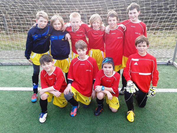 """DFG-Fußball-Team WK4 bei """"Jugend trainiert für Olympia"""""""