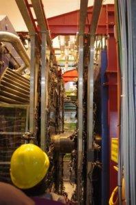 Lehrfahrt der TS1 und TS2 zum CERN