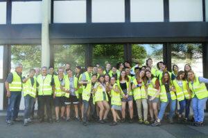 Les élèves de Première ES visitent l'usine Michelin de Hombourg/Saar