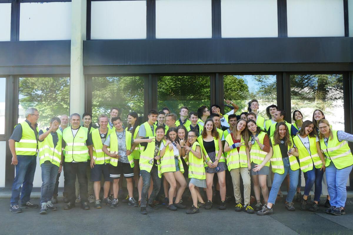 Klasse ES besucht Michelin-Werk in Homburg/Saar