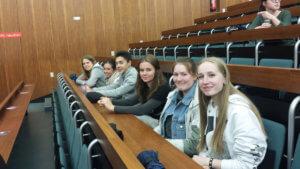 Les élèves de Première ES fêtent la journée de l'Europe à l'Université de la Sarre