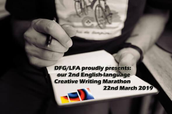 2nd creative writing marathon