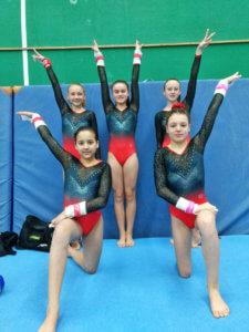 DFG-Mädchen bei den saarländischen Schulmeisterschaften im Gerätturnen 2019DFG-Mädchen bei den saarländischen Schulmeisterschaften im Gerätturnen 2019