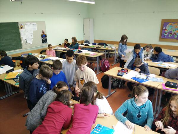 La classe de 6ebi2 participe au rallye maths de la ZECO de l'AEFE