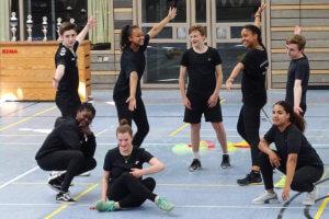 DFG-Olympiade 2018 - Choreographie