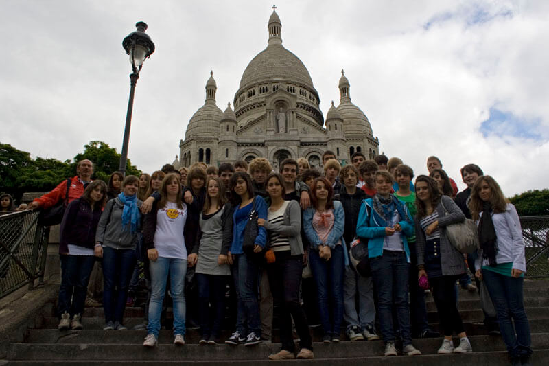 Paris-Fahrt der Klassen 9S1 & 9S2
