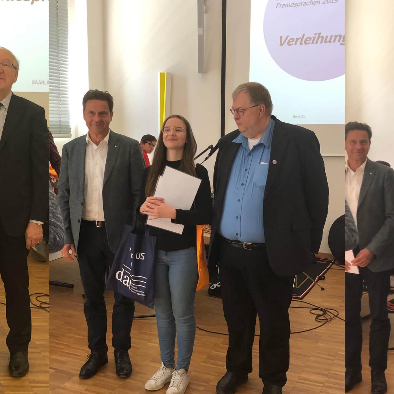 DFG-Gewinner beim Bundeswettbewerb Fremdsprachen 2019