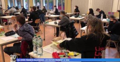 Deutsch-französisches Abitur 2021: Reportage von Mosaïk Cristal-TV