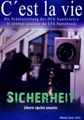 """Schülerzeitung """"C'est la vie"""" (Winter/hiver 2010)"""