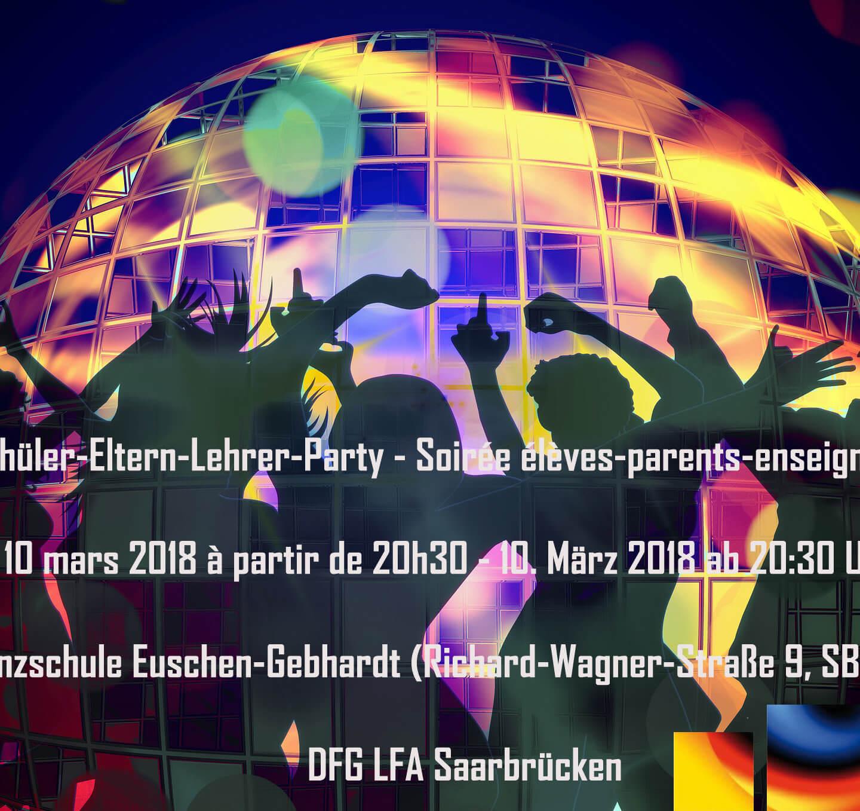 DFG-Schüler-Eltern-Lehrer-Party