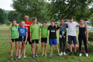 Jugend trainiert für Olympia: Triathlon