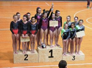 saarländischen Schulmeisterschaften im Gerätturnen