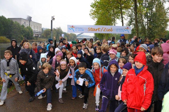 Résultats de la course de bienfaisance « Courir pour l'UNICEF » 2009