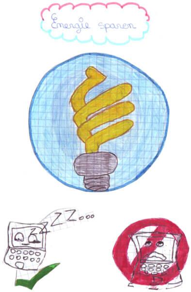 Flyer der 5e1 zum Thema Umweltschutz