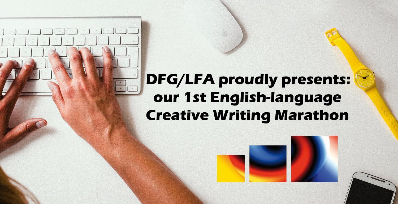 English writing marathon at DFG-LFA Saarbrücken