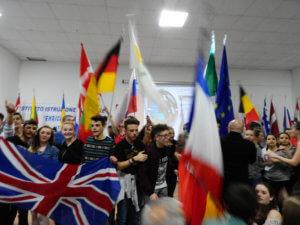 Erasmus-Flaggen