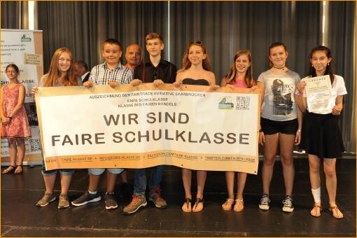 Drei Klassen des DFG als Faire Klassen ausgezeichnet