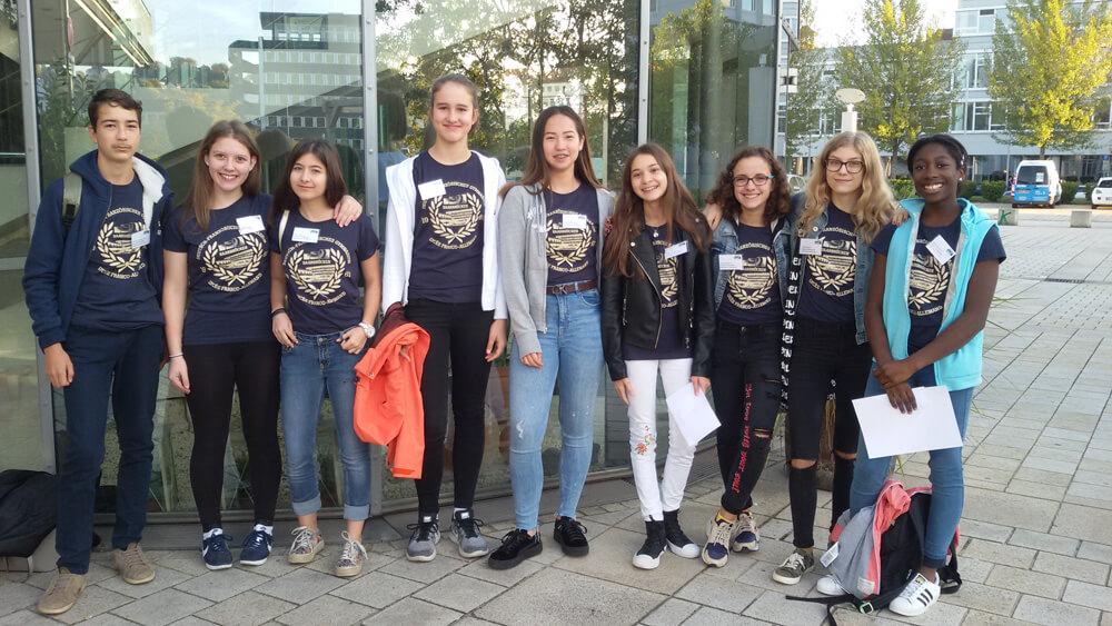 Première académie d'élèves dédiée au commerce équitable à Sarrebruck