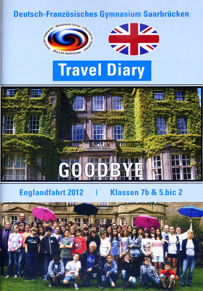 "England 2012 – Travel Diary – Farewell ""good old Quorn Hall"""