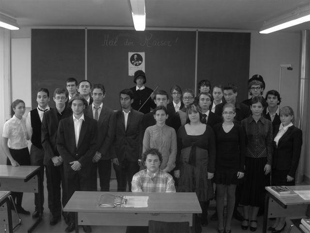Literaturunterricht hautnah — Ein Experiment der Terminale S im Unterricht Deutsch Partnersprache