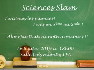 Sciences Slam