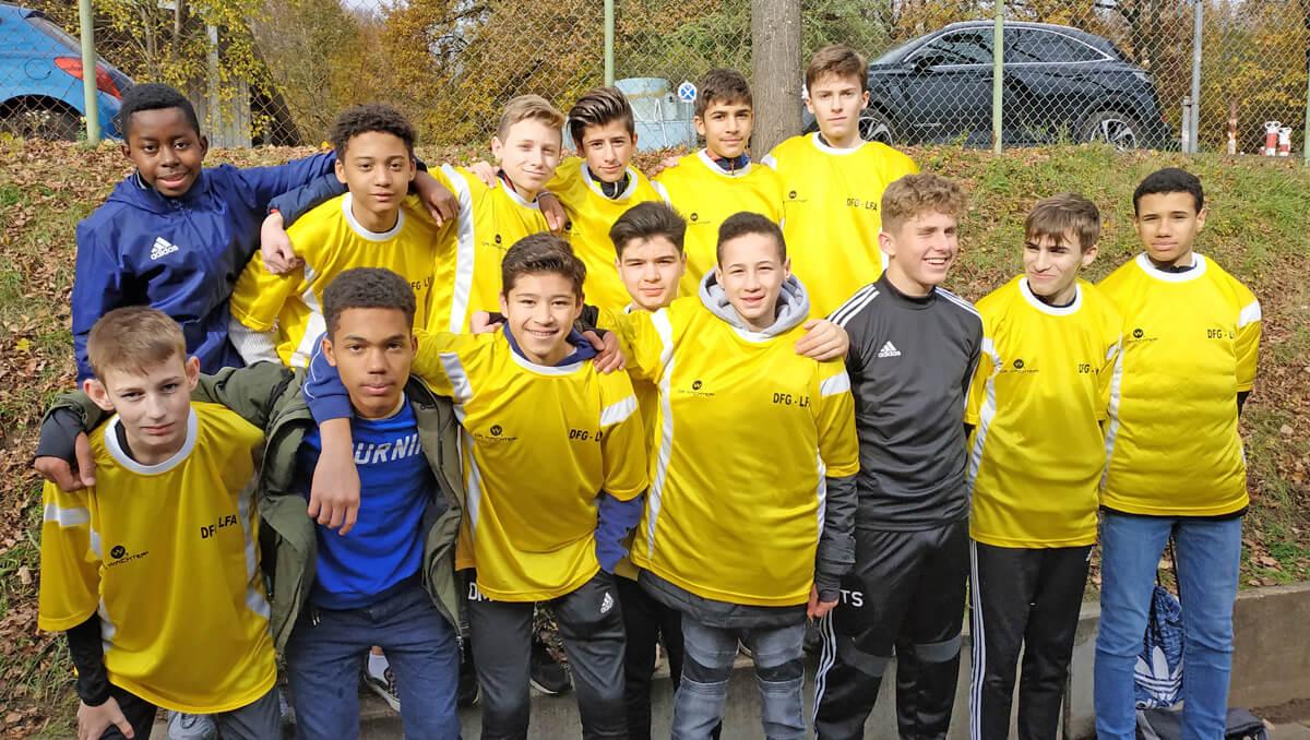 """""""Jugend trainiert für Olympia"""" Fußball: Vorrunde WK 2 (2004-2006)"""