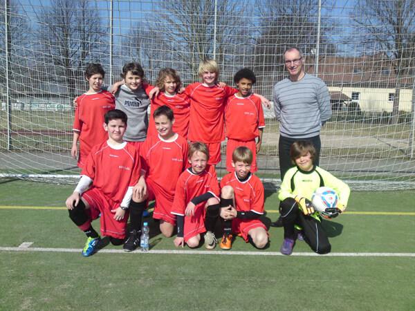 """DFG-Fußballmannschaft (WK 4) bei """"Jugend trainiert für Olympia"""""""