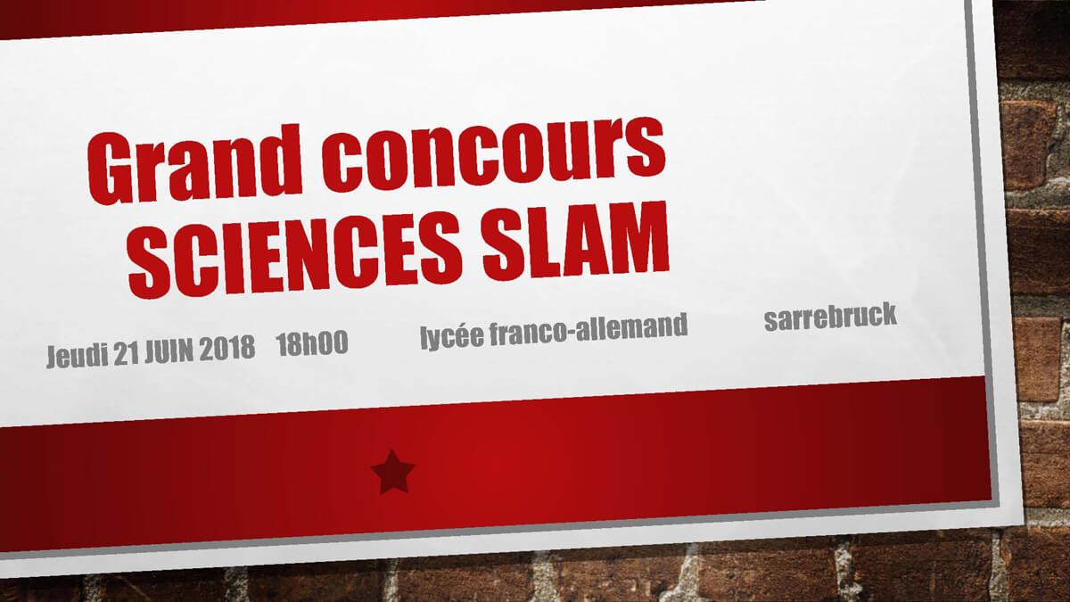 Großer Science Slam-Wettbewerb am DFG