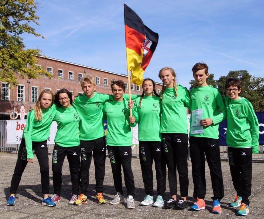 """DFG-Triathlon-Team erneut erfolgreich beim 95. Bundesfinale """"Jugend trainiert für Olympia"""" in Berlin 2018"""