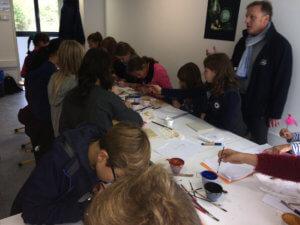 Sortie des 6bi1& 2 au parc archéologique européen de Bliesbruck du 13 octobre 2017