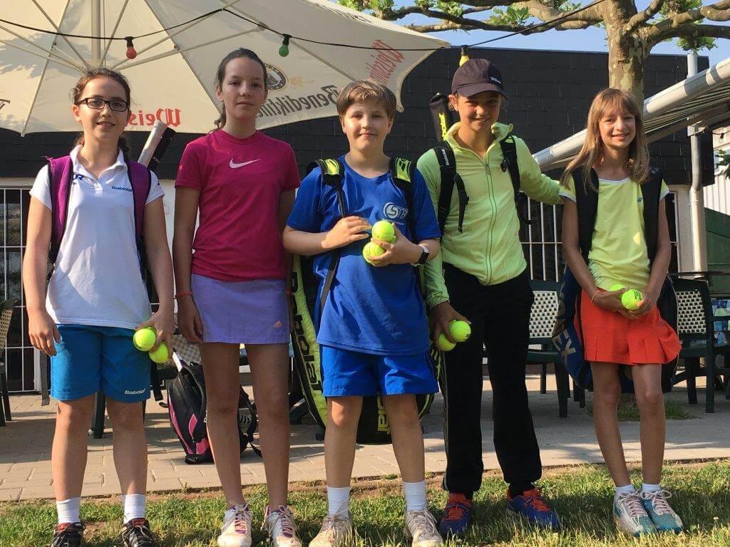 DFG-Team Sieger im Tennis bei Jugend trainiert für Olympia