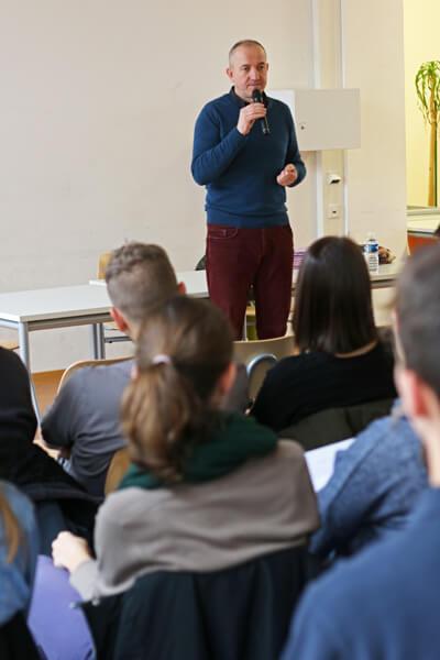 Schriftsteller Philippe Claudel zu Besuch am DFG