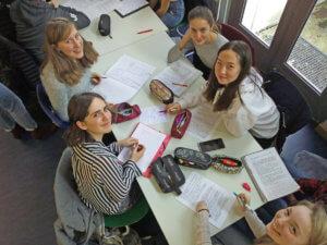 Atelier d'écriture franco-allemand