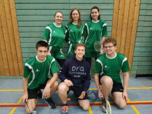 DFG-Badminton-Team