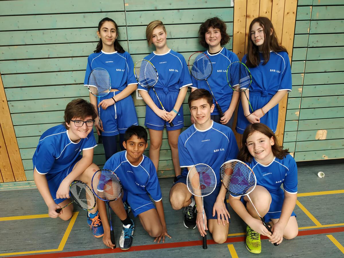 Jugend trainiert für Olympia – Badminton-Turnier in Wiebelskirchen