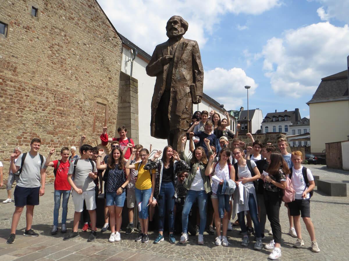 Karl Marx-Projekt der Klassen 8S1 und 8SL