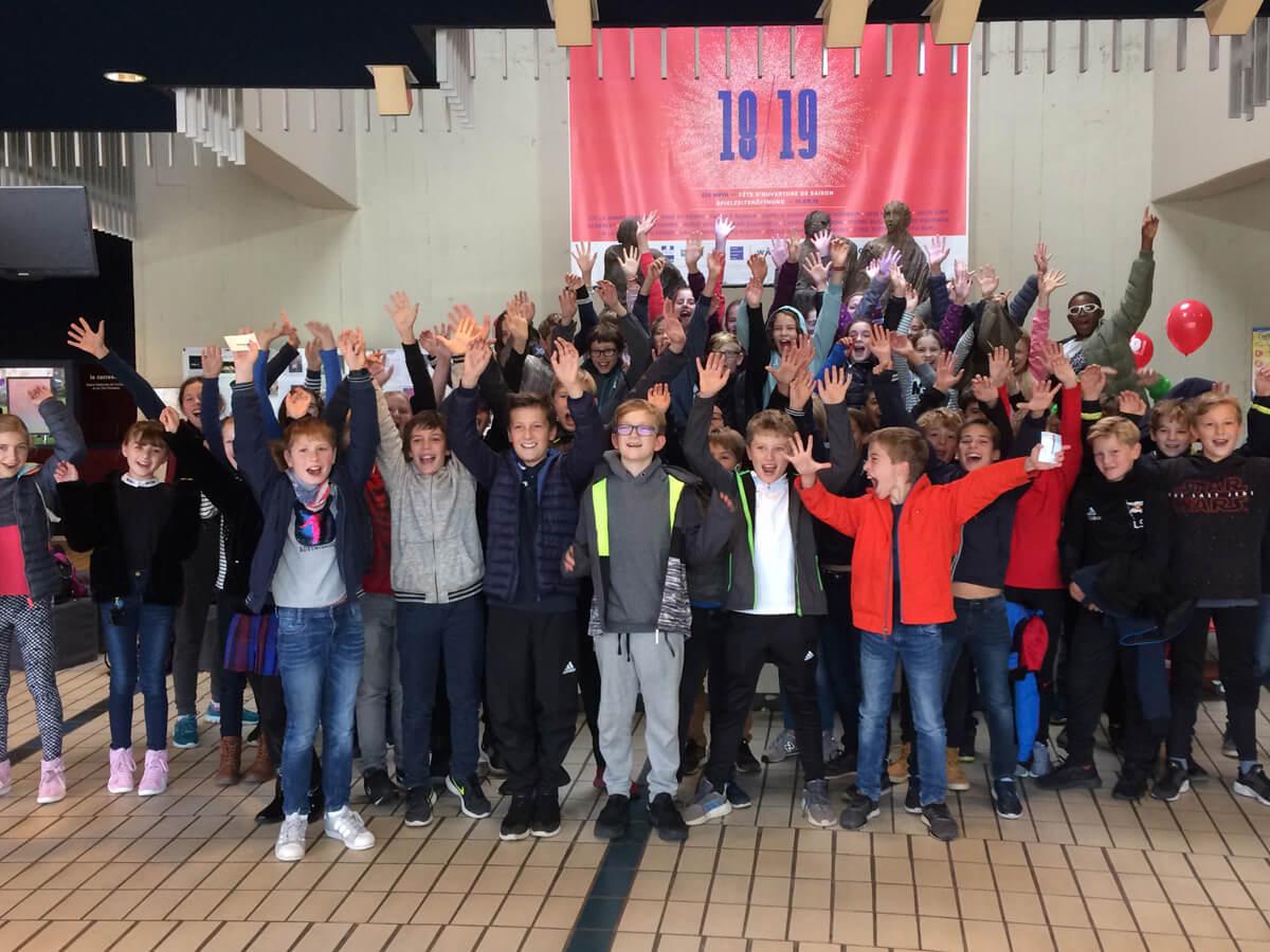 6a und 6e beim deutsch-französischen Jugendfestival Loostik