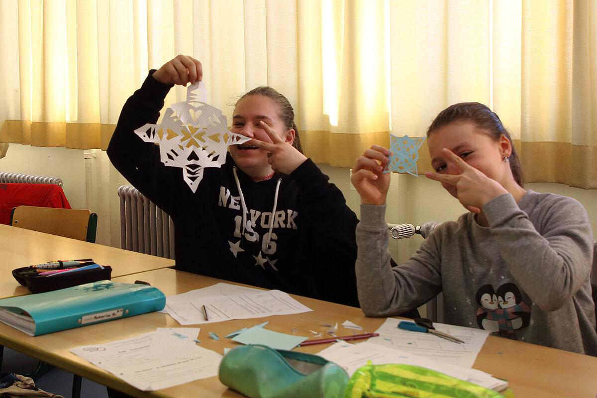 Deutsch-französischer Austauschtag der Klassen 7a und 5e1