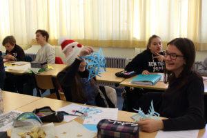 Interner Austausch der Klassen 7a und 5e1 - Echange interne des classes 7a et 5e1