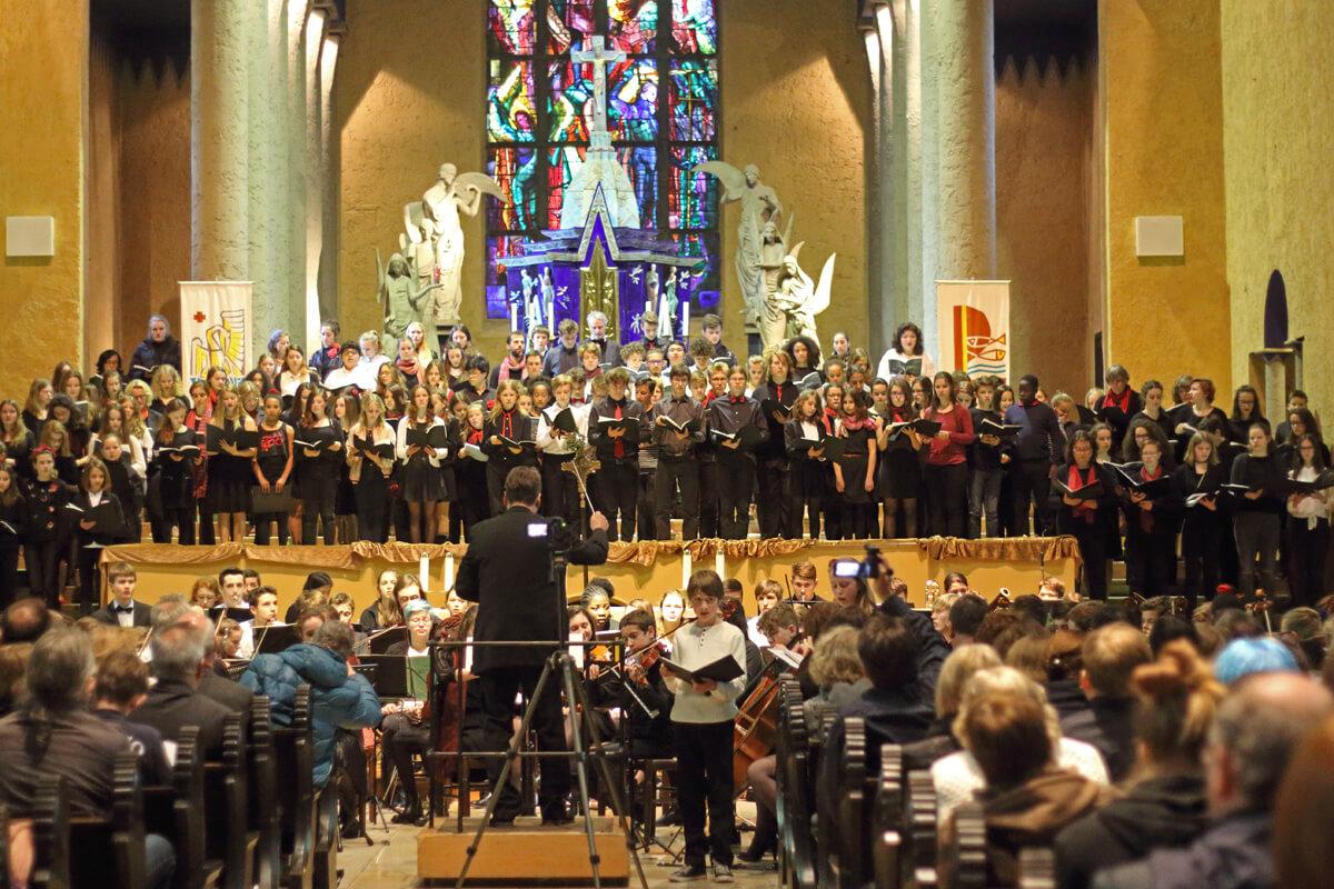 «Construire la paix» – Concert des 3 LFA à Sarrebruck