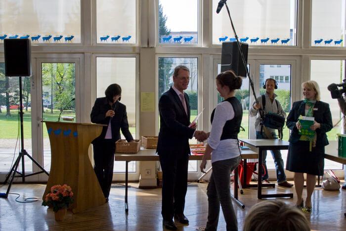 DFG-Schüler erfolgreich beim Bundeswettbewerb Fremdsprachen 2010