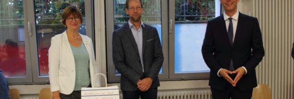 Einführung des neuen DFG-Schulleiters Stefan Hauter