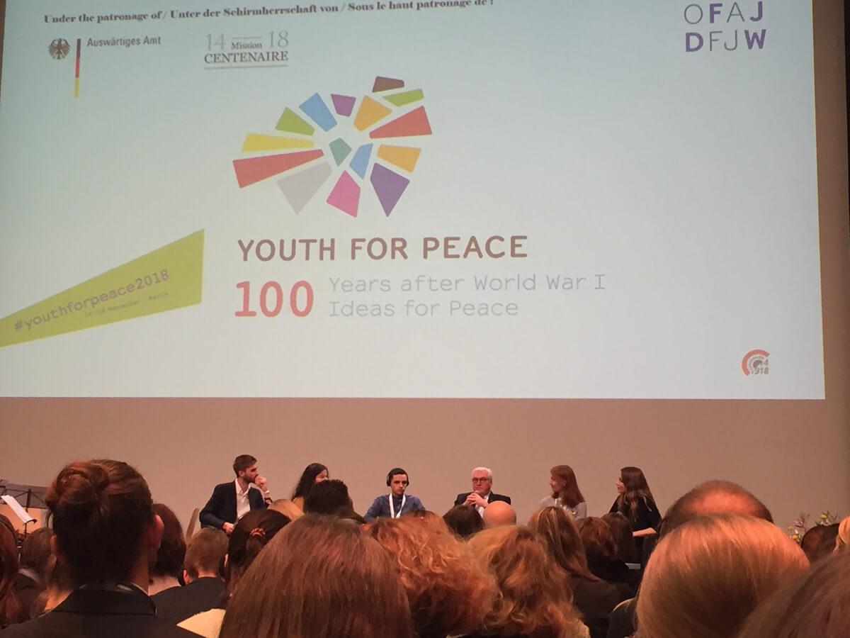100 ambassadeurs pour la paix- Voyage à Berlin
