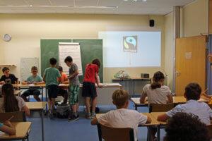 Fair Trade-Projekt der Religionsgruppe 7a/b