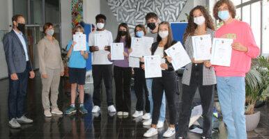 DFG-Schüler*innen erfolgreich beim Bundeswettbewerb Fremdsprachen