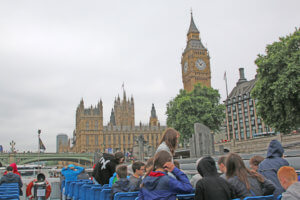 Day 3: London: Houses Of Parliament - Westminster Abbey - London Eye - Boat trip on the Thames - Tower of London